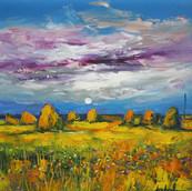Stormy Skies, Haystacks, South Uist
