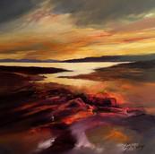 Evening Skies, Loch Cuin, Mull