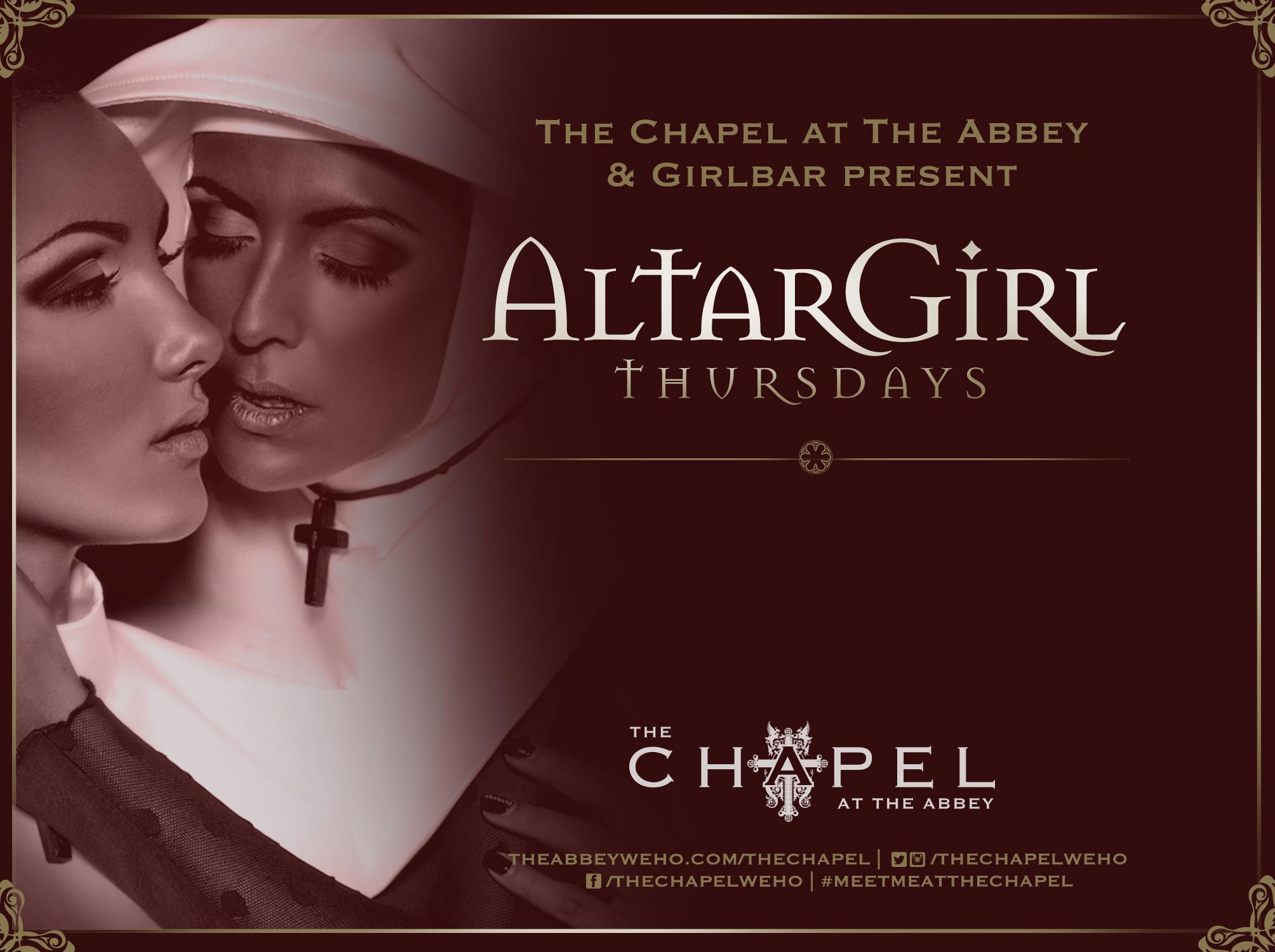 ALTARGIRL flyer THURS Lesbian  -.