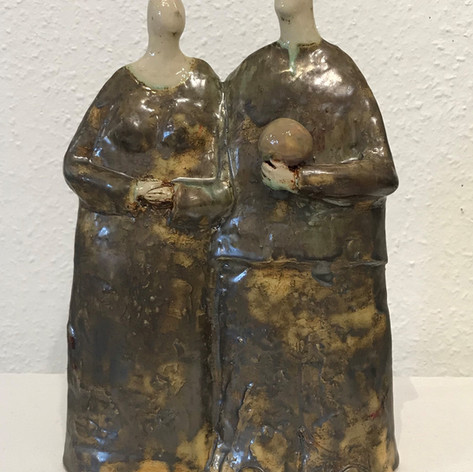 Ceramic stoneware by Ludmilla Kosmina