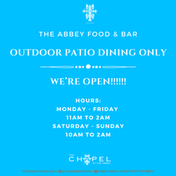 2021 Reopening Hours The Abbey Weho