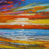 Eveninglight, Hogh Bay, Isle of Coll