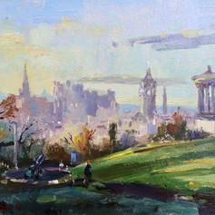 Morning Light Calton Hill
