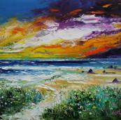 Stormy Skies, The Singing Sands Of Isla