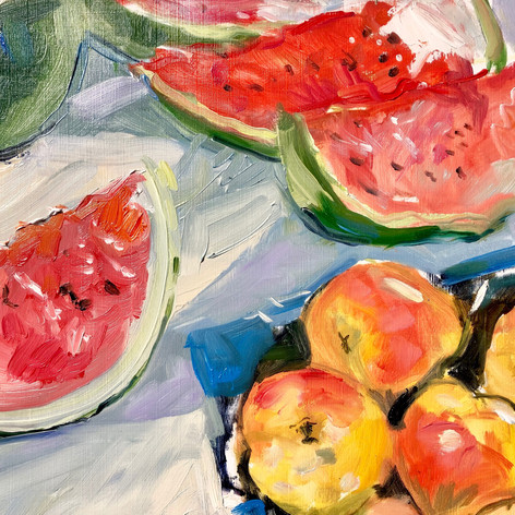 Watermelons & Apples