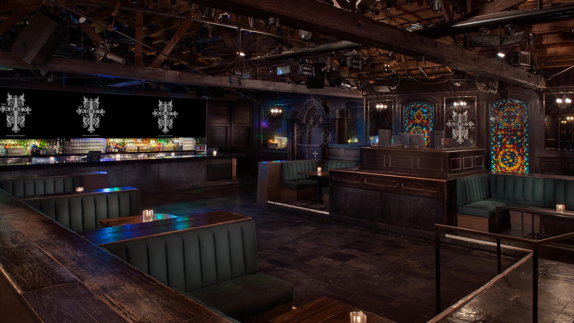 Abbey Weho Dance floor Booths photo look