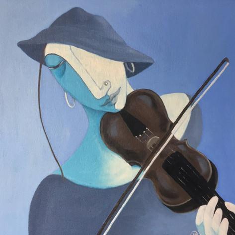 Fiddler - Blue Hat