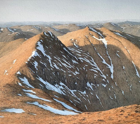 North from Ben Lawers