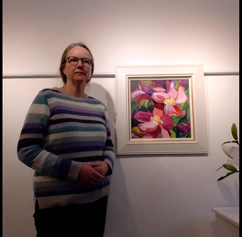 Shona Barr talks to us about her painting Clematis