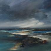 Heavy Skies Loch Cuin, Mull
