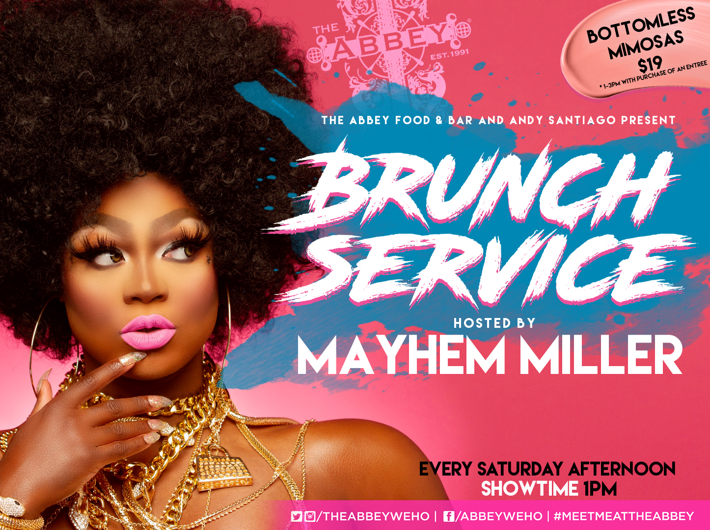 Brunch Service Flyer