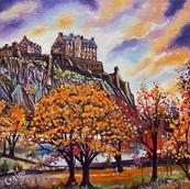 Edinburgh Castle, Autumn