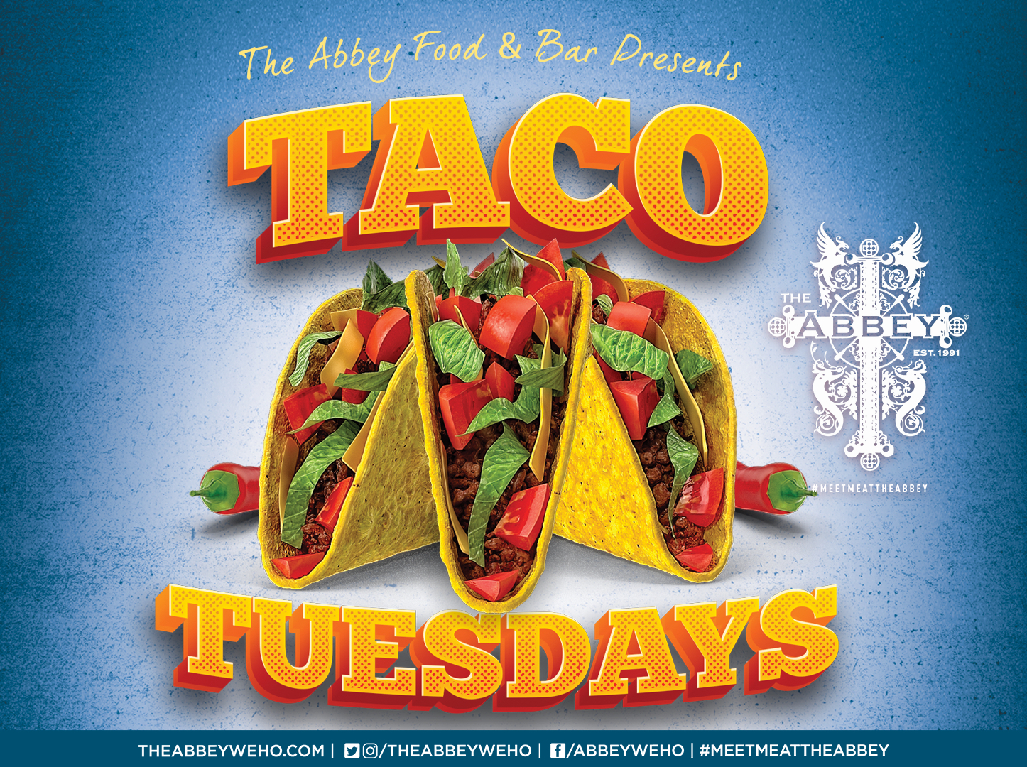 Taco Tuesdays At The Abbey in Weho