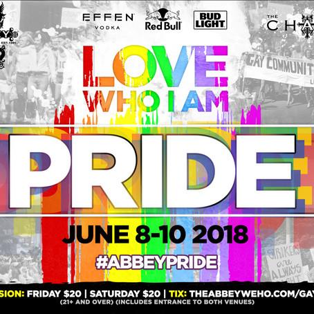 LA PRIDE 2018 - GAY PRIDE CELEBRATION - THE ABBEY WEHO