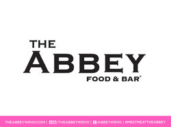 ABBEY FOOD AND BAR LOGO SOCIAL
