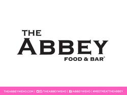 ABBEY FOOD AND BAR LOGO SOCIAL