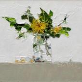 Dandelions in Jam Jar Study I