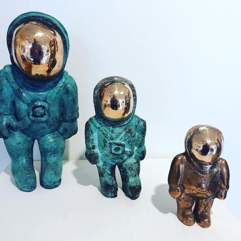 Bronze and Ceramics by Arran Ross