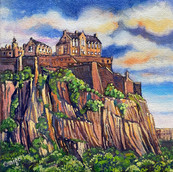 Edinburgh Castle, Summer