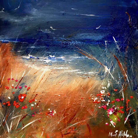 Moody Blues and Poppies