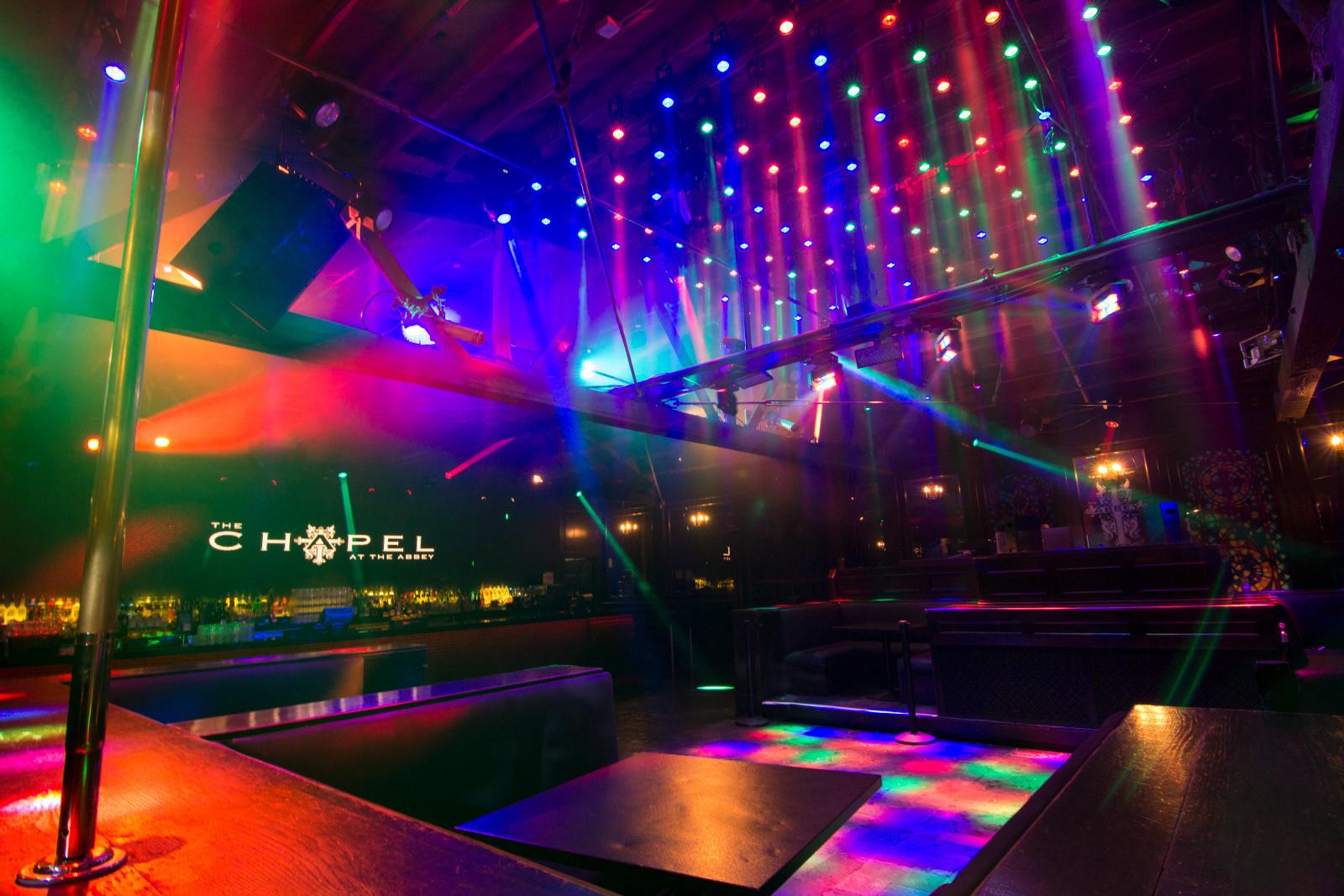 abbey west hollywood - Dance floor light