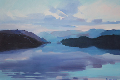 'Sunset, Loch Morar' by Ann Armstrong