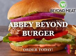 Abbey Beyond Meat Burger Photo Now Servi