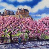 Edinburgh Castle, Spring