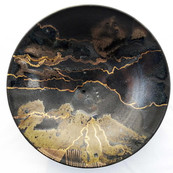 Handpainted Porcelain Plates by Ian Henderson