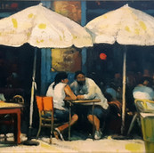 Summer in the City - Cafe, New York