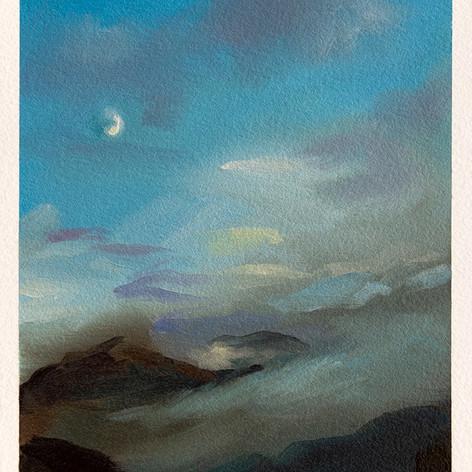 Scottish Highlands VII - Moon