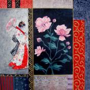 Enigma with Japanese Anemones