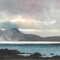 Silver Showers over Cuillins