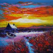 Sunrise, Isle of North Uist