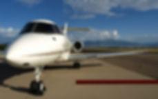 비행기와 레드 카펫