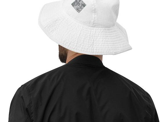 Wide brim bucket hat- in cloud9 reflections logo