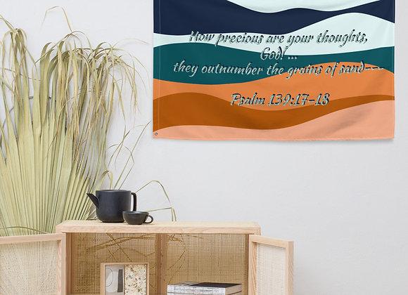 Flag- Psalm 139, grains of sand