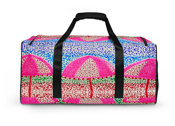 Duffle bag in Dotted Parasols
