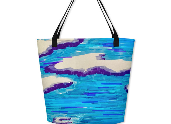 Beach Bag in Cool Vibes