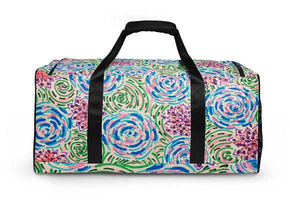 Duffle bag in Peonies & Posies