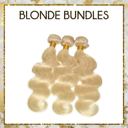 BLONDE BODYWAVE  BUNDLE DEAL