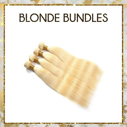 BLONDE STRAIGHT BUNDLE DEAL