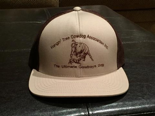 Hat: Tan/Brown with Brown Logo