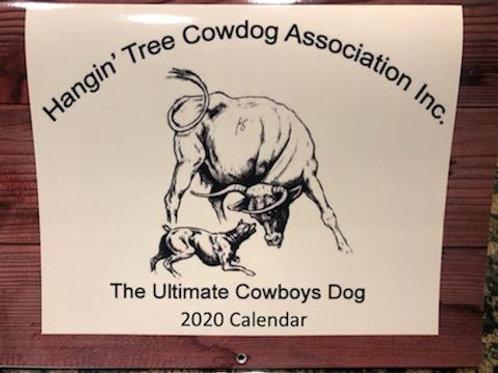 2020 Hangin' Tree Cowdog Calendar