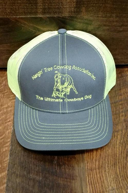 Hat: Gray/Neon Yellow with Neon Yellow Logo