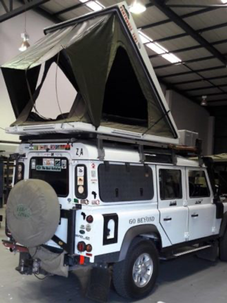 Big country hardtop daktent