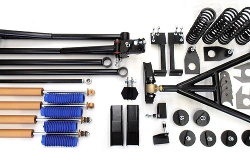 Raptor 4x4 Samurai 10CM spiraal veer kit compleet