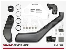 Bravo snorkels voor Land Rover