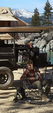 Smitty bilt Scout off-road trailer