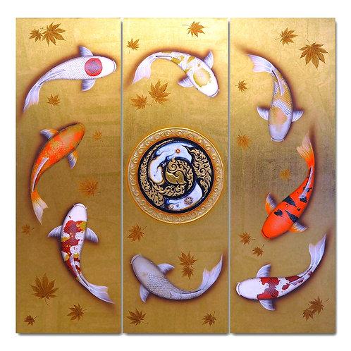ปลาคาร์ฟมงคล set 3